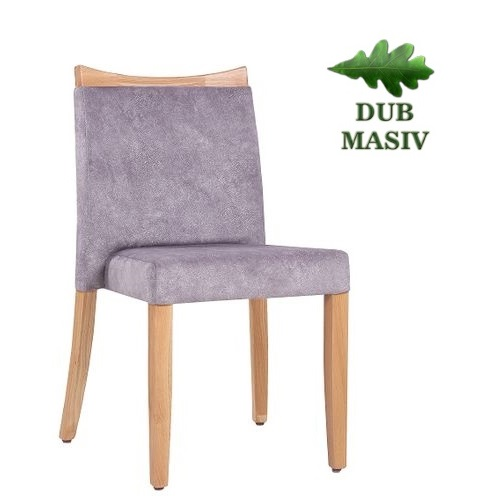 Restaurační židle MARLO DST DM masivní dub a možnost stohování