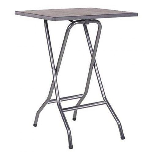 Sklapovací kovové barové stoly