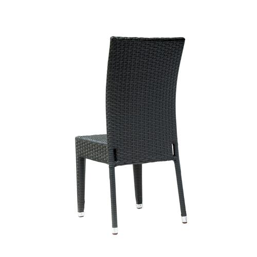 Židle na terasu z umělého ratanu