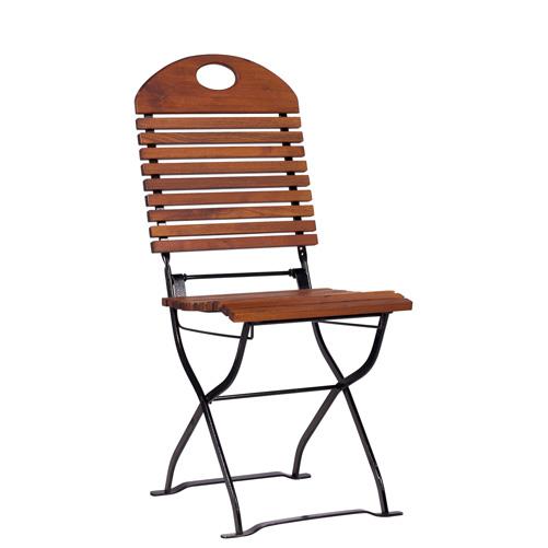 Zahradní sklapovací židle akácie