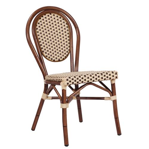 Venkovní židle umělý bambus
