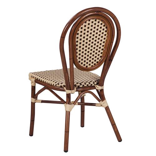 Zahradní židle venkovní umělý bambus