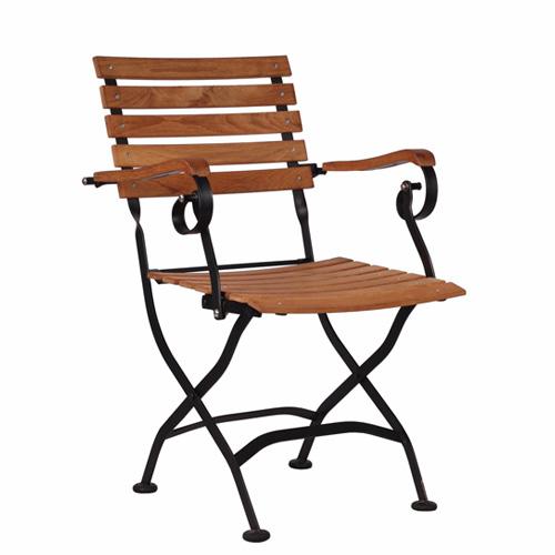 Zahradní sklapovací židle SENJA AL PL