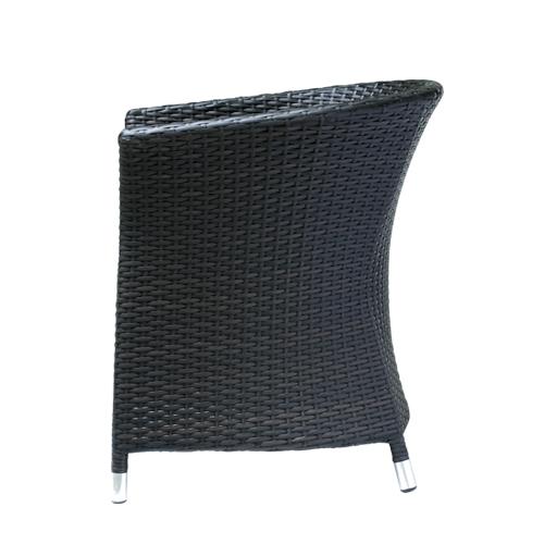 zahradní židle a křesla hliníkové umelý ratan