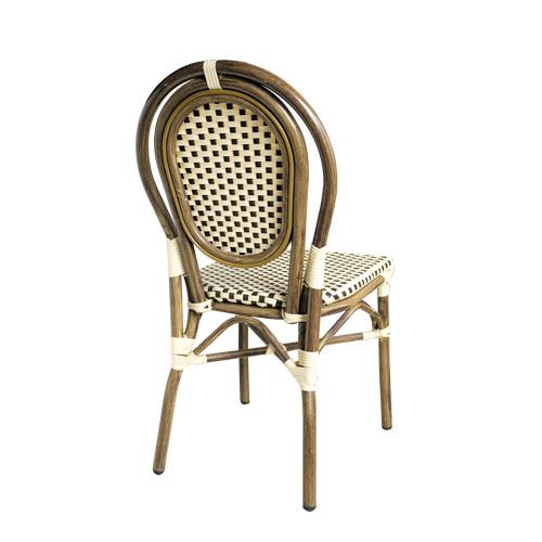 Židle umělý ratan venkovní