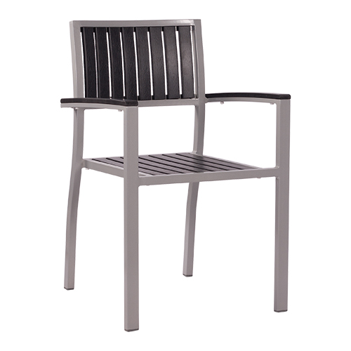 Zahradní židle plastové lamely