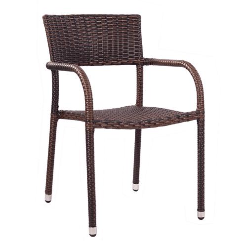 Zahradní židle umělá výplet
