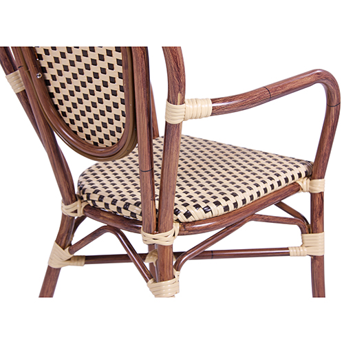 Zahradní židle venkovní hliníkové