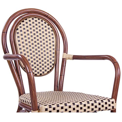 Zahradní židle s možností stohování restaurace