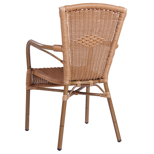 Záhradné stoličky s výpletom