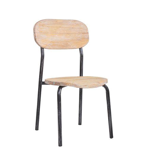 Bistro židle MANDAS z použitého starého dřeva