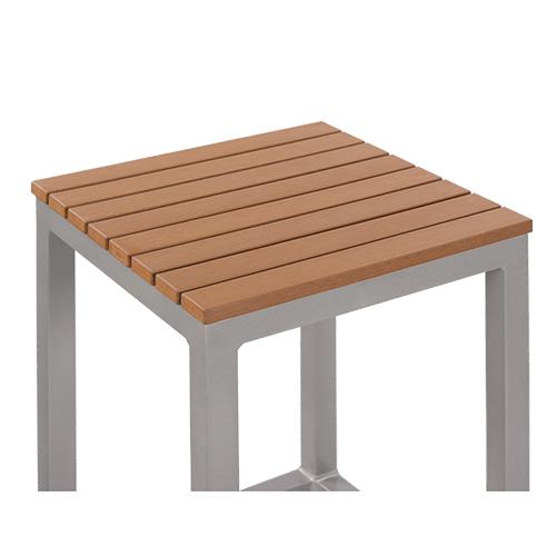 Zahradní barová židle teaková