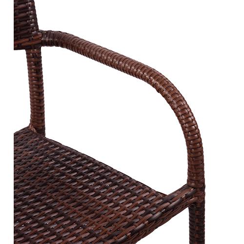 Židle umělý ratan výplet