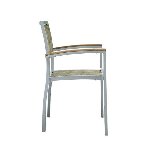 Záhradné stoličky hliníkové