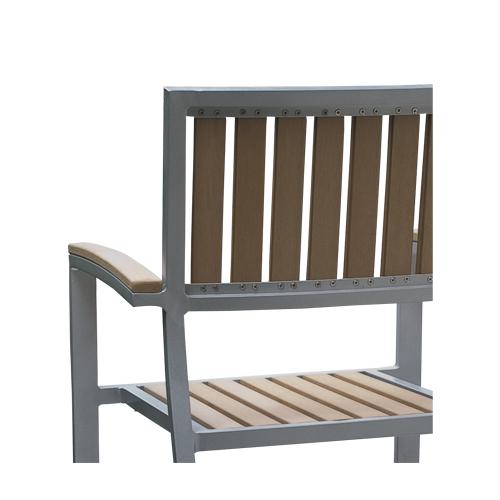 Zahradní židle s područkama venkovní