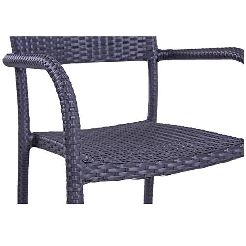 Umelý ratan stoličky záhradné