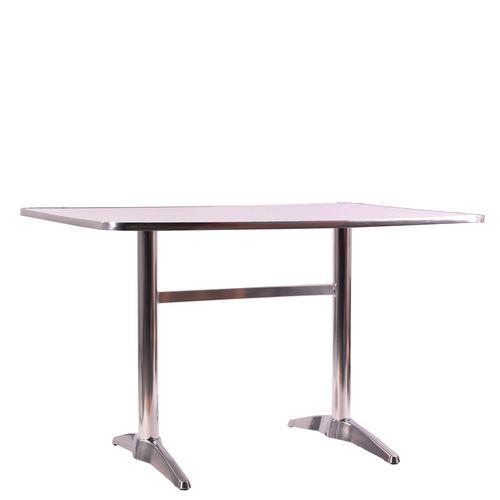 Hliníkové venkovní stoly dvě nohy