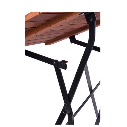 Zahradní sklapovací stoly