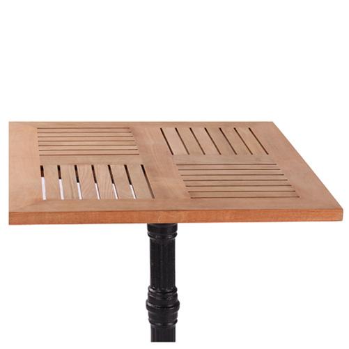 Venkovní teakové stoly