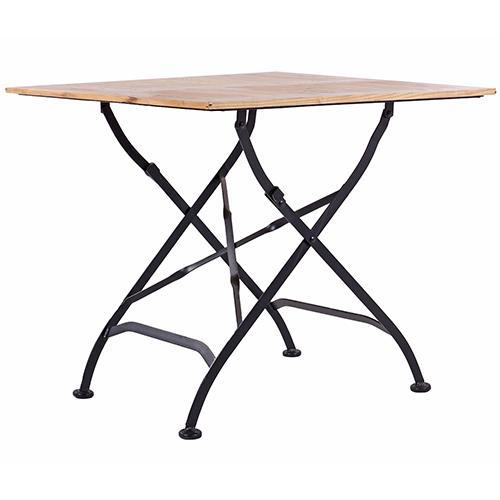 Zahtradní dřevěné stoly