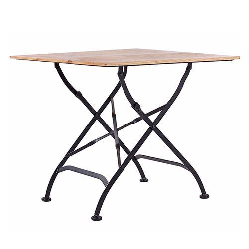 Zahradní dřevěné stoly skládací