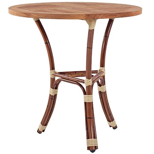 Zahradní stůl imitace bambus