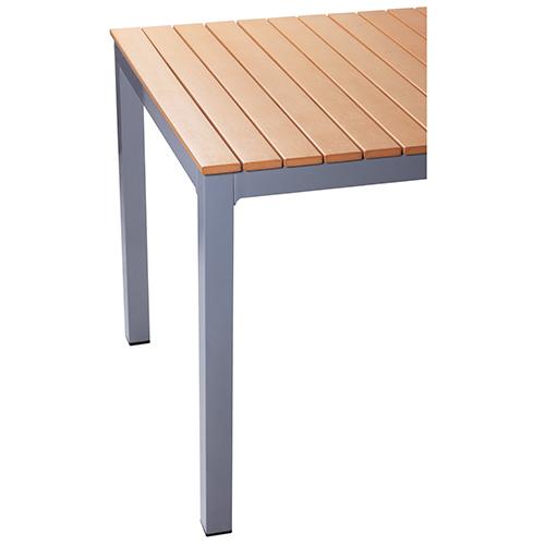 Zahradní stoly TEAK OPTIK