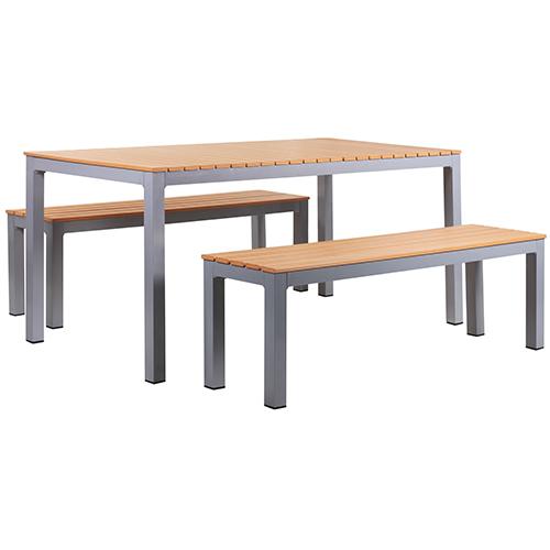 Zahradní lavice a stůl sestava