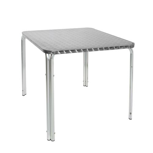 Venkovní stůl hranatý hliníkový
