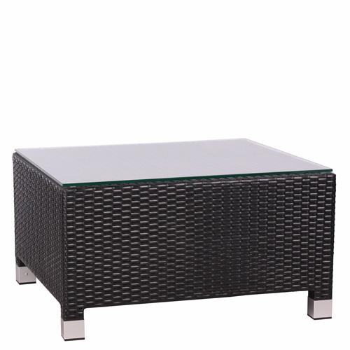 Ratanový lounge stolek DELOS T