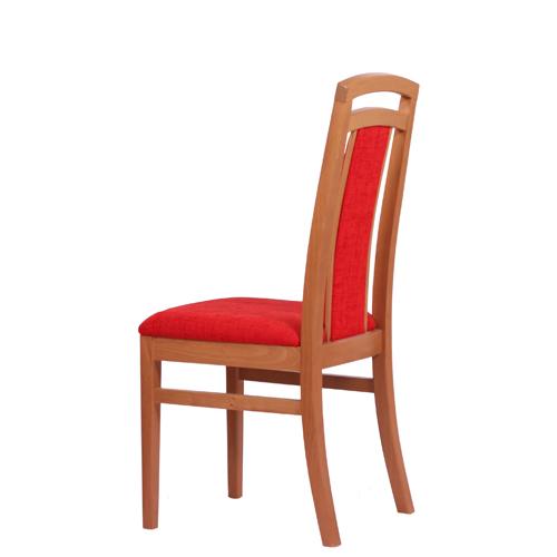 Dřevěné židle čalouněné, restaurační stoličky
