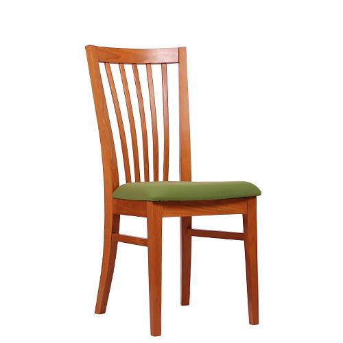 Dřevěná židle čalouněná LORIS