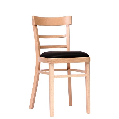 Dřevěná židle čalouněná KLASIK 92P