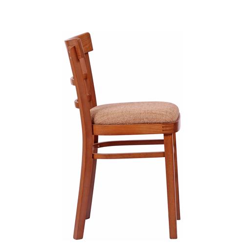 Dřěvená židle pro gastro provozy, gastro zařízení, hotelový nábytek