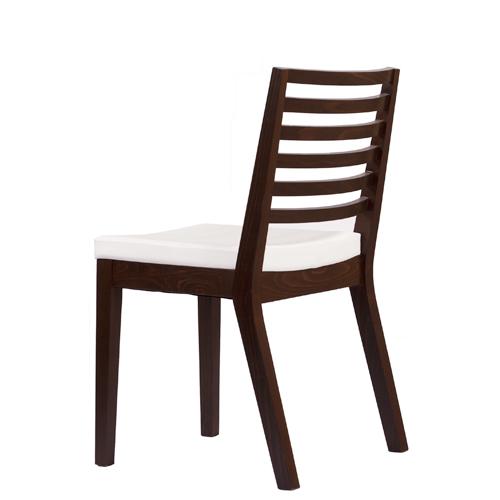 Dřevěná čalouněné stolička