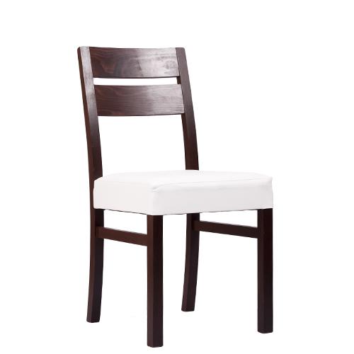 Dřevěné pohodlné čalouněné stoličky do restaurací