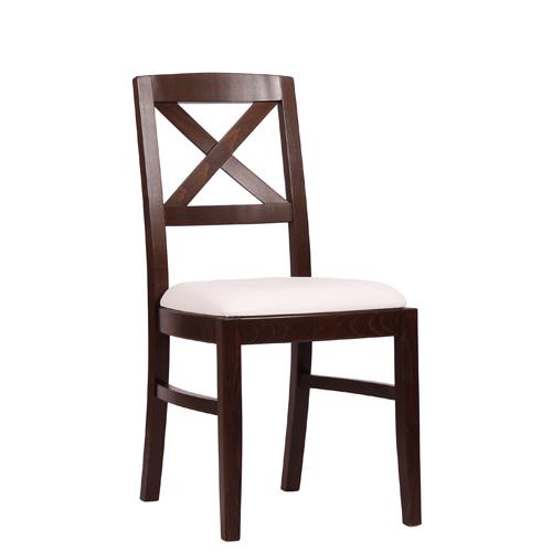 Dřevěná židle čalouněná ALEX