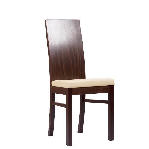 Čalouněná židle pro použití v gastronimii.