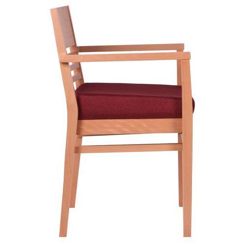 Dřevěné židle šikmý sedák