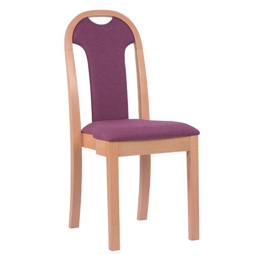 Dřevěné židle čalouněné