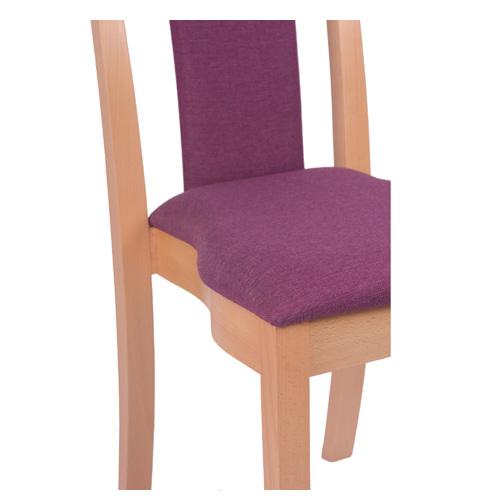 Židle do restaurace s možností stohování