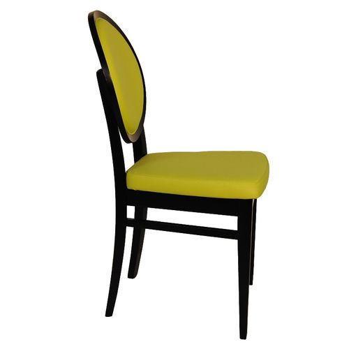 Dřevěné židle s opěradlem medailon