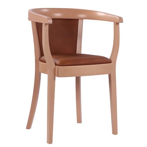 Dřevěná křesla s dřevěným sedákem
