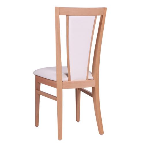 Drevené čalúnené stoličky do reštaurácie