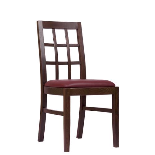 Dřevěná židle čalouněná ALEXIA