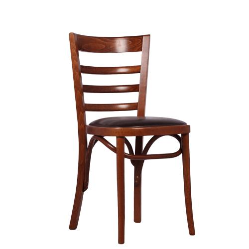 Dřevěná čalouněná židle MASON P