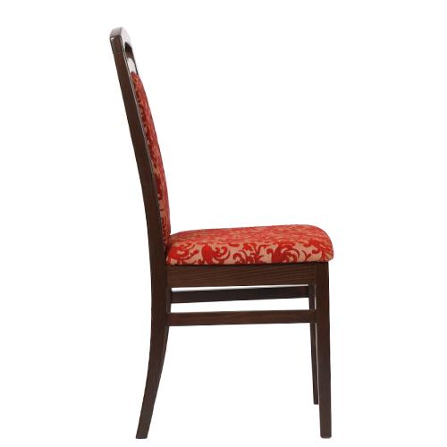 Čalouněné židle dřevěné, restaurační níbytek