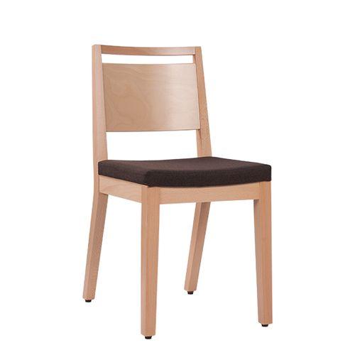 Dřevěná židle čalouněná LUCAS P