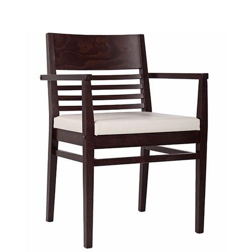 Dřevěná židle čalouněná LAURIN AL