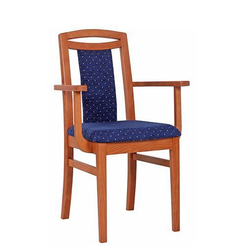 Dřevěné čalouněné židle HANA AL